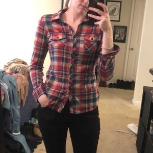 The softest plaid flannel- size small